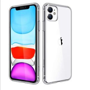 New!FREE WITH ITEM OVER $25! iPhone 11 Clear Case